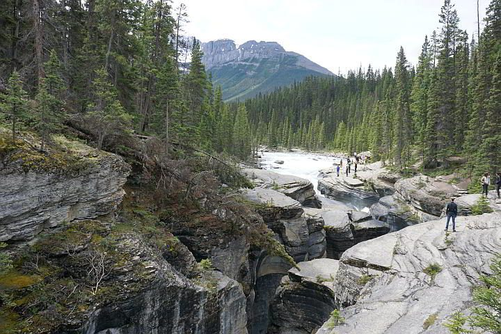 Mistaya Canyon Icefields Parkway Banff
