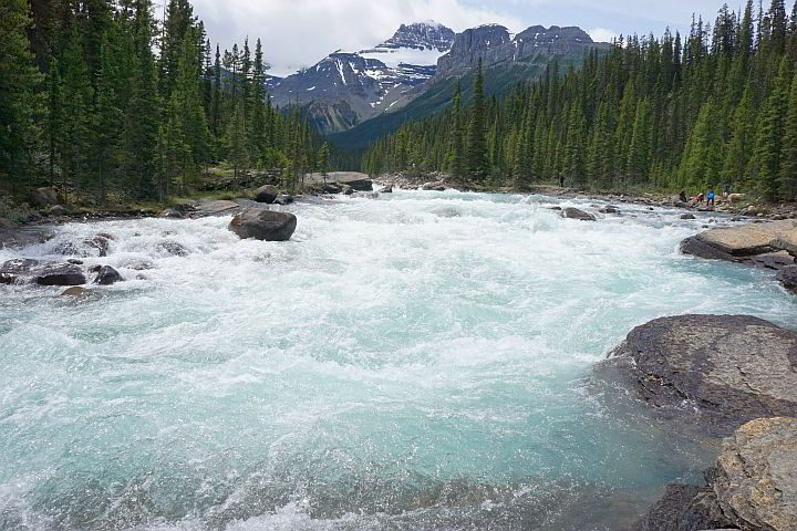 Mistaya River Banff National Park