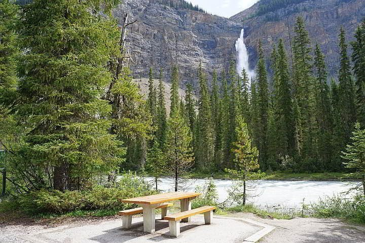 Perfect picnic spot Yoho National Park