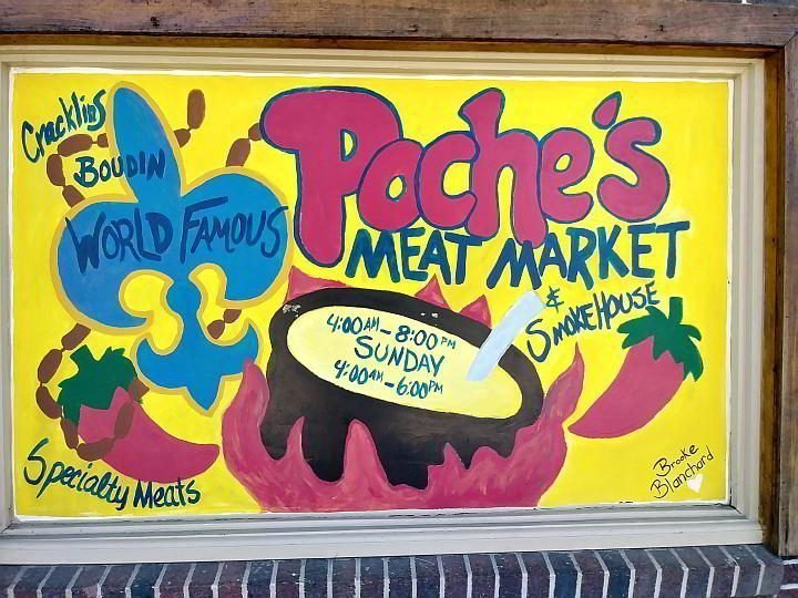 Poche's Meat Market and Smokehouse in Breaux Bridge Louisiana
