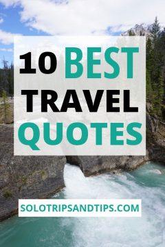 10 Best Travel Quotes