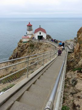 308 steps to Point Reyes Lighthouse
