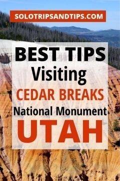 Best Tips Visiting Cedar Breaks National Monument Utah
