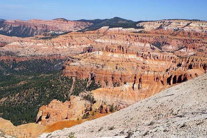 Cedar Breaks Rampart Trail landscape