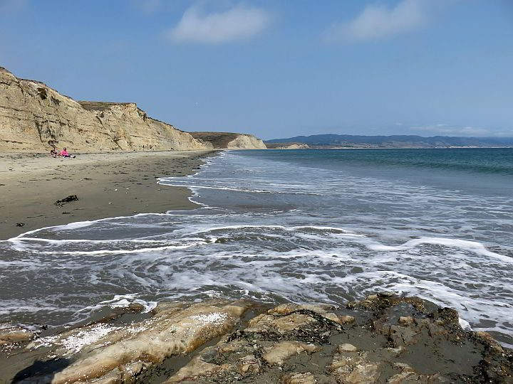 Beautiful Drakes Beach northern California