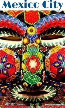 Mexico City beaded mask