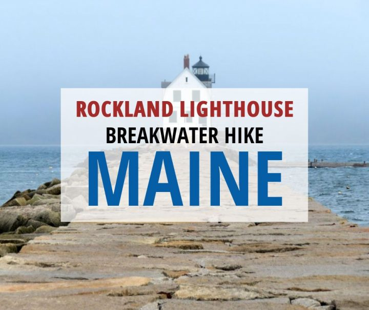 Rockland Lighthouse Breakwater Hike Maine
