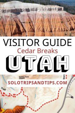 Visitor Guide Cedar Breaks Utah