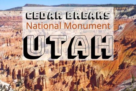 Visit Cedar Breaks for Hiking (Scenic Views) in Beautiful Southern Utah