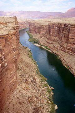 Colorado River Arizona viewed from Navajo Bridge