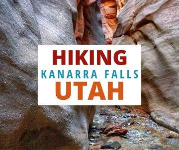 Hiking Kanarra Falls Utah