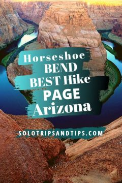 Horseshoe Bend Best Hike Page Arizona