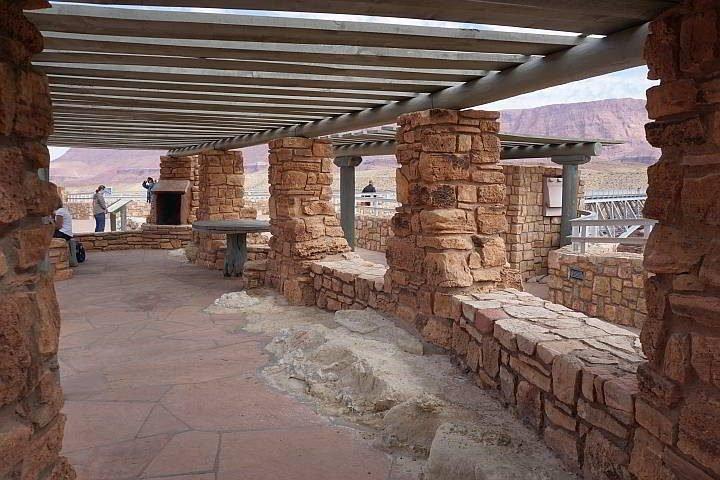 Navajo Bridge Observation Shelter 1930's