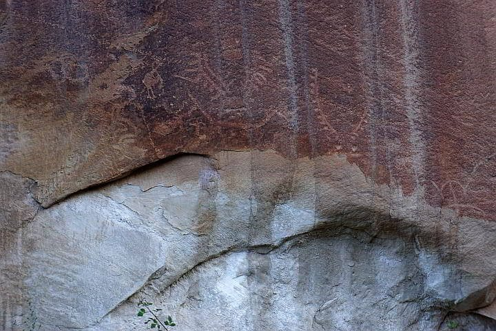 Petroglyphs Capitol Reef National Park Utah