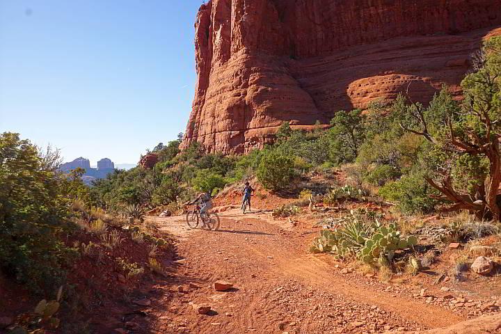 Biking Little Horse Trail Sedona AZ