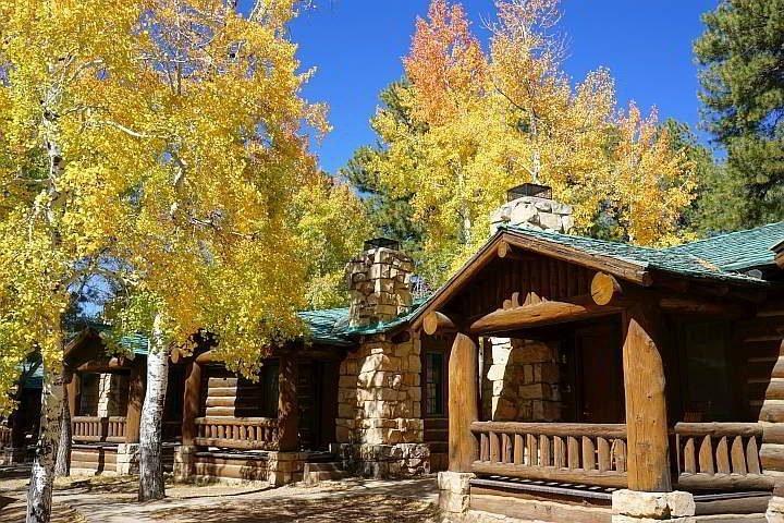Fall foliage Grand Canyon Lodge North Rim