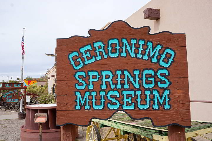 Geronimo Springs Museum in historic Truth or Consequences NM