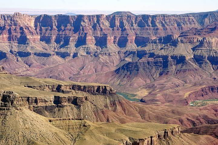 Grand Canyon North Rim Colorado River view