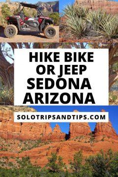 Hike Bike or Jeep Sedona Arizona