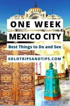 One Week in Mexico City Best Things to Do and See