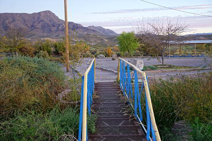 Rotary Park near the Rio Grande in Truth or Consequences New Mexico