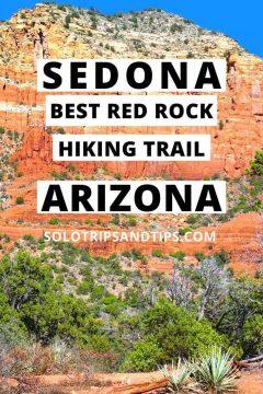 Sedona Best Red Rock Hiking Trail Arizona