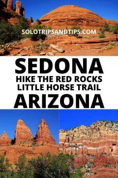 Sedona Hike the Red Rocks Little Horse Trail Arizona