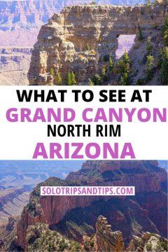 What to See at Grand Canyon North Rim Arizona