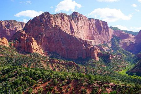 Timber Creek Overlook Trail Zion National Park Kolob Canyon