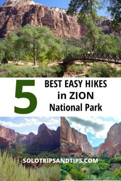 5 Best Easy Hikes in Zion National Park