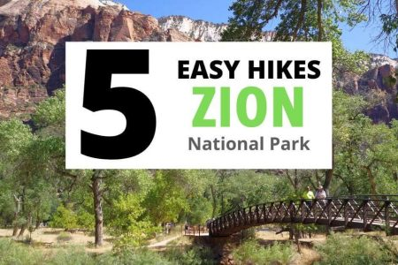 5 Easy Hikes in Zion National Park to Help You Plan Your Trip!