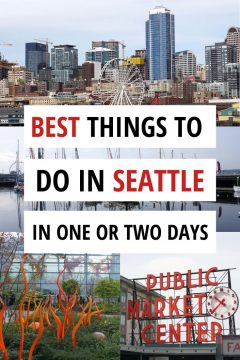 Best things to do in Seattle in one or two days