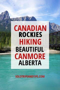 Canadian Rockies Hiking Beautiful Canmore Alberta