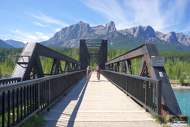 Canmore Engine Bridge Bow River