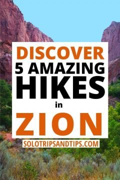 Discover 5 Amazing Hikes in Zion