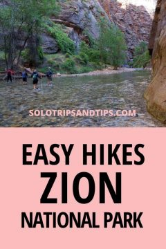 Easy Hikes Zion National Park