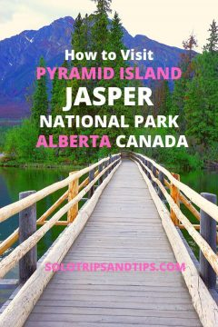 How to Visit Pyramid Island Jasper National Park Alberta Canada