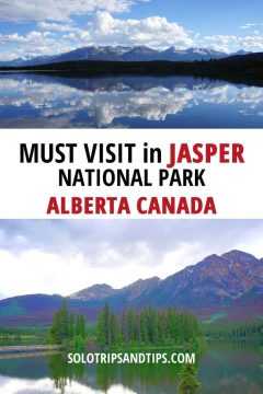 Must Visit in Jasper National Park Alberta Canada