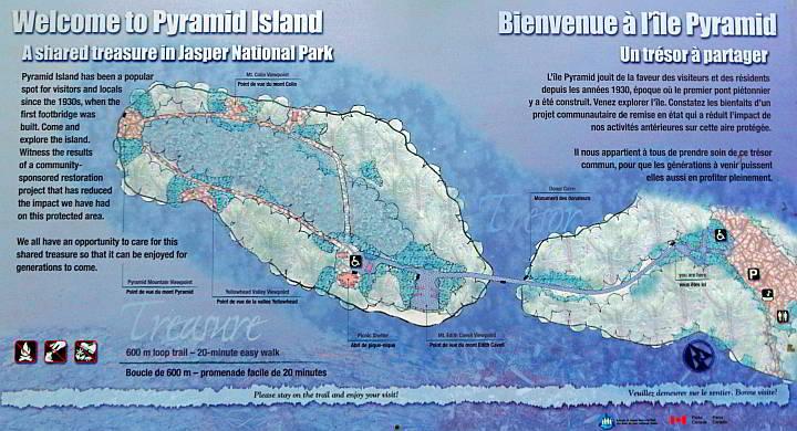 Pyramid Island map and info