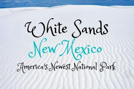 Solo Trip to White Sands National Park