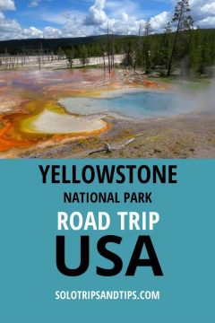 Yellowstone National Park Road Trip USA