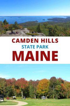 Camden Hills State Park Maine