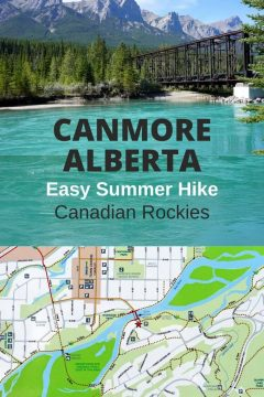 Canmore Alberta Easy Summer Hike Canadian Rockies