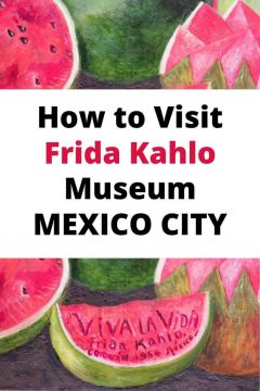How to Visit Frida Kahlo Museum Mexico City