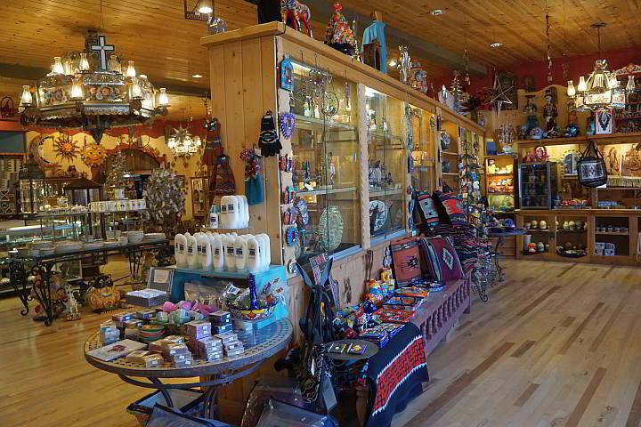 La Posada Hotel gift shop Winslow AZ