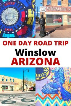 One Day Road Trip Winslow Arizona