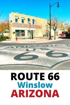 Route 66 Winslow Arizona
