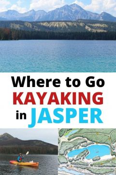 Where to Go Kayaking in Jasper