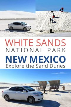 White Sands National Park New Mexico Explore the Sand Dunes