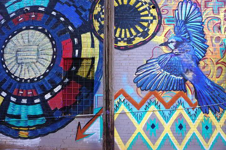 Winslow AZ mural